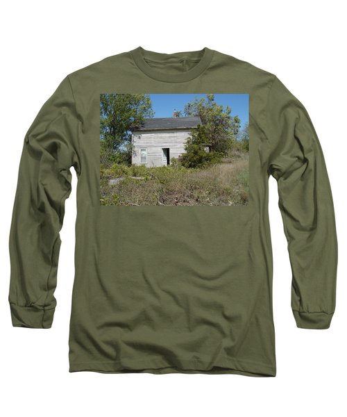 Long Sleeve T-Shirt featuring the photograph Abandoned by Bonfire Photography