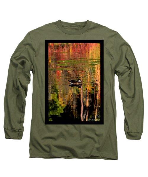 Adrift In Pastels Long Sleeve T-Shirt