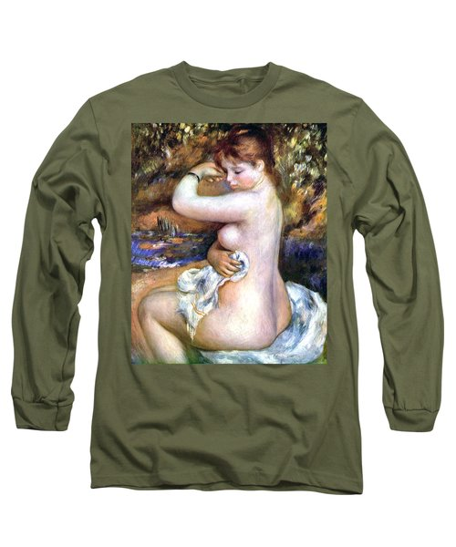 After Bath Long Sleeve T-Shirt