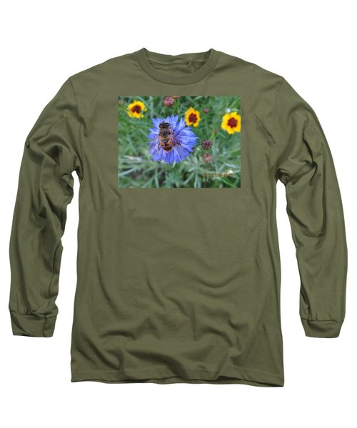 Long Sleeve T-Shirt featuring the photograph Afternoon Feeding by Tina M Wenger
