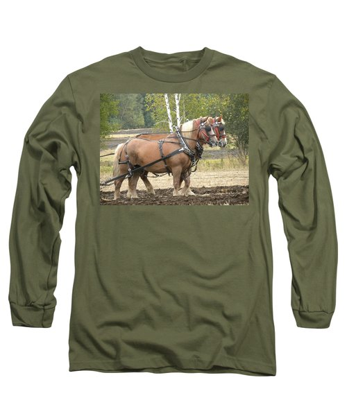 All In A Days Work Long Sleeve T-Shirt