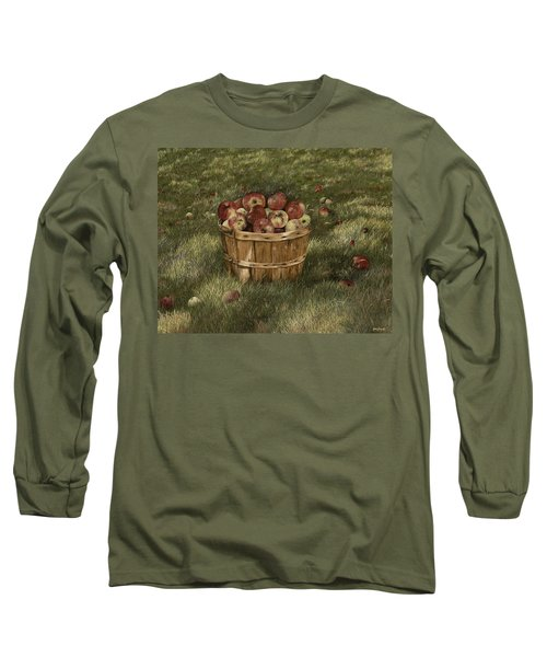 Apples In Basket Long Sleeve T-Shirt