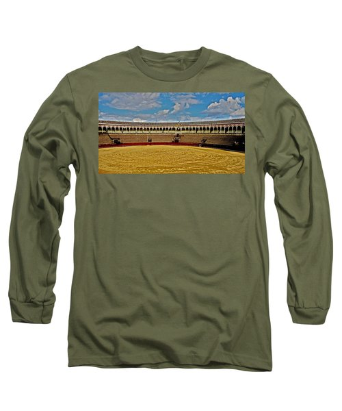 Arena De Toros - Sevilla Long Sleeve T-Shirt