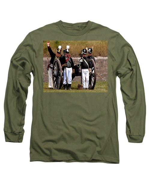 Long Sleeve T-Shirt featuring the photograph Artillery by JT Lewis