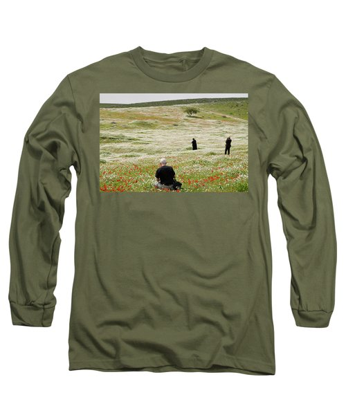 At Lachish's Magical Fields Long Sleeve T-Shirt