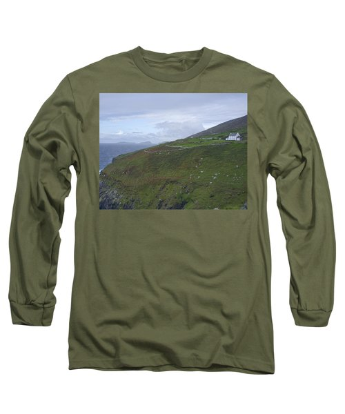 Long Sleeve T-Shirt featuring the photograph Atlantic Coast Ireland by Hugh Smith