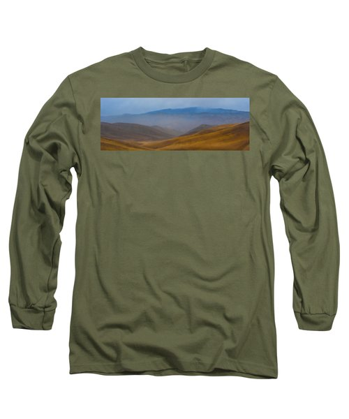Long Sleeve T-Shirt featuring the photograph Bakersfield Horizon by Hugh Smith
