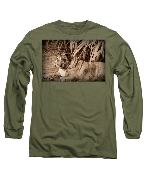 Long Sleeve T-Shirt featuring the photograph Baydie by Jeanette C Landstrom