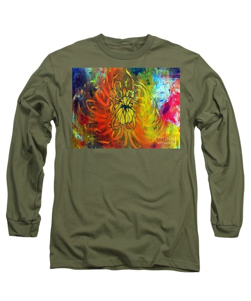Beautiful Mistake Long Sleeve T-Shirt by Sandro Ramani