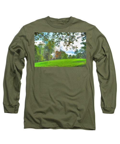 Long Sleeve T-Shirt featuring the photograph Beginning Of Fall by Michael Frank Jr
