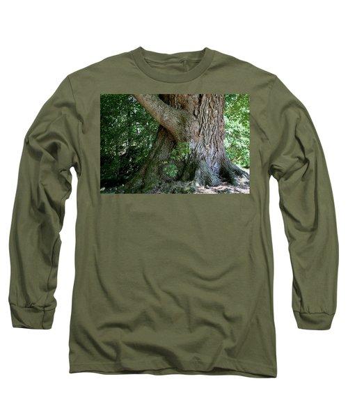 Big Fat Tree Trunk Long Sleeve T-Shirt