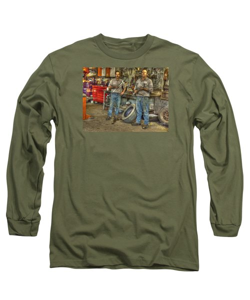 Long Sleeve T-Shirt featuring the photograph Big Wrenches by William Fields
