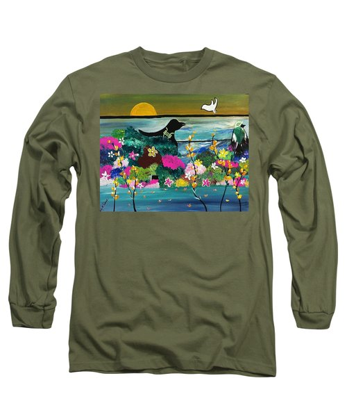 Black Birds Long Sleeve T-Shirt