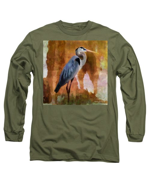 Blue Long Sleeve T-Shirt