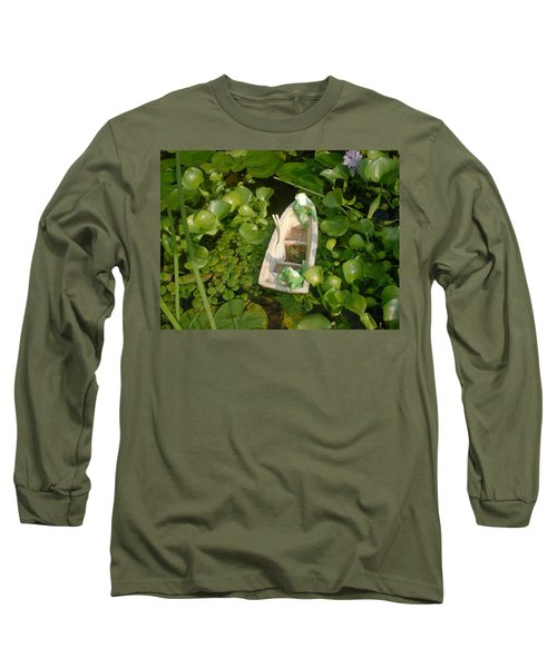 Long Sleeve T-Shirt featuring the photograph Boating With Friends by Bonfire Photography