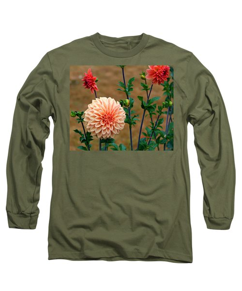 Long Sleeve T-Shirt featuring the photograph Bodaciously Orange by Jeanette C Landstrom