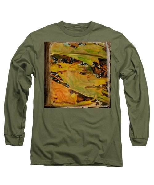 Book Of Leaves  Long Sleeve T-Shirt