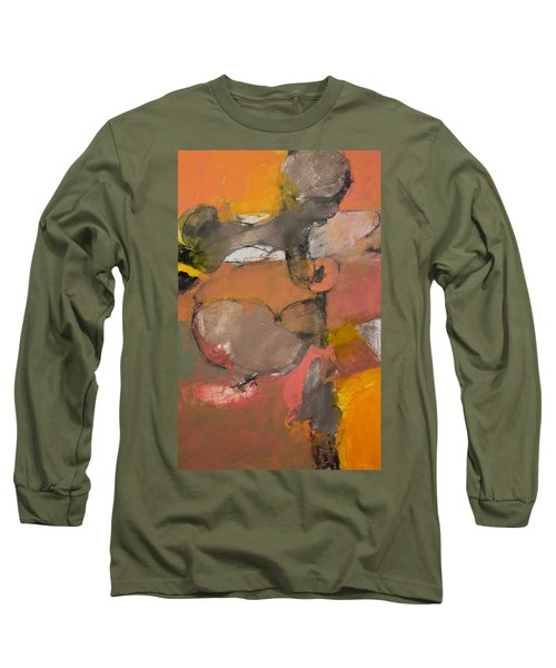 Long Sleeve T-Shirt featuring the painting Breastbone by Cliff Spohn