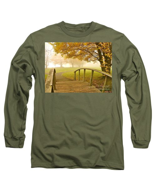 Bridge To Autumn Long Sleeve T-Shirt
