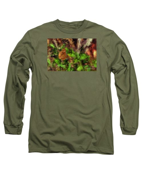 Long Sleeve T-Shirt featuring the photograph Butterfly Camouflage by Dan Friend