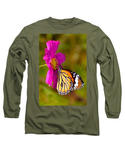 Butterfly II Long Sleeve T-Shirt by Fotosas Photography