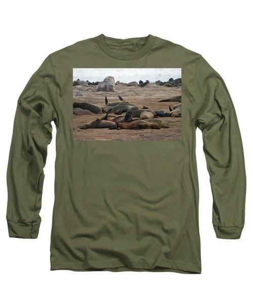 Cape Cross Seal Colony Long Sleeve T-Shirt