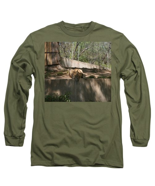 Long Sleeve T-Shirt featuring the photograph Cat Nap by Stacy C Bottoms