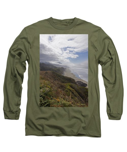 Central Oregon Coast Vista Long Sleeve T-Shirt by Mick Anderson
