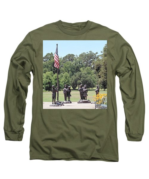 Children Raise The Flag Long Sleeve T-Shirt