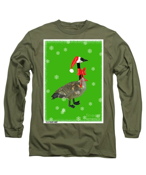 Christmas Goose Long Sleeve T-Shirt