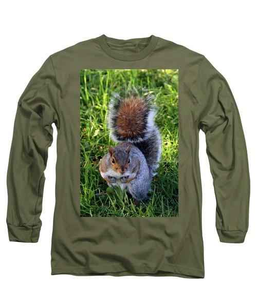 City Squirrel Long Sleeve T-Shirt