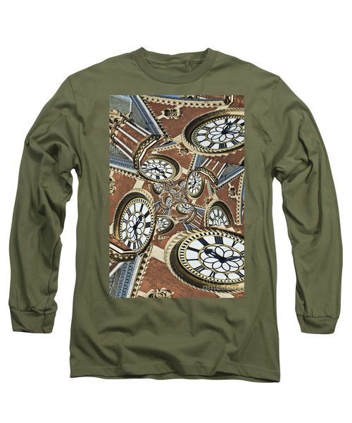 Clocked Long Sleeve T-Shirt by Clare Bambers