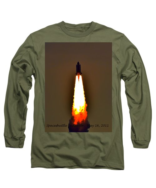 Closer View Of The Launch Long Sleeve T-Shirt