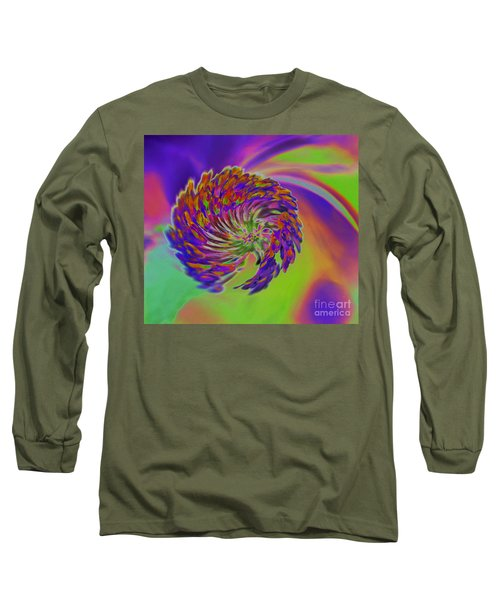 Color Splash Long Sleeve T-Shirt by Cindy Manero