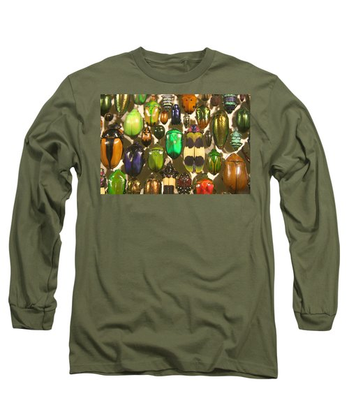 Long Sleeve T-Shirt featuring the photograph Colorful Insects by Brooke T Ryan