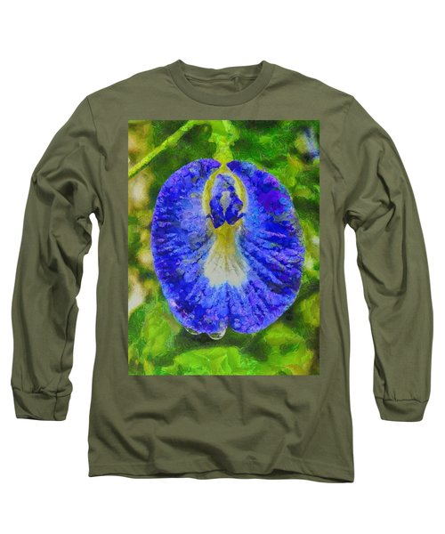 Conch Flower Long Sleeve T-Shirt