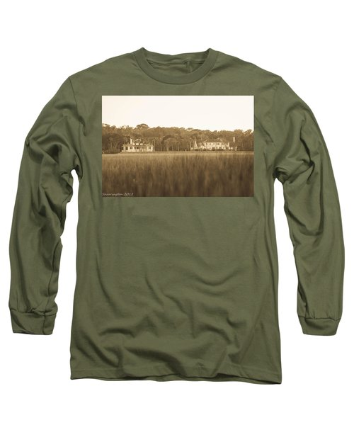 Long Sleeve T-Shirt featuring the photograph Country Estate by Shannon Harrington