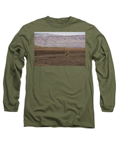 Coyote Badlands National Park Long Sleeve T-Shirt