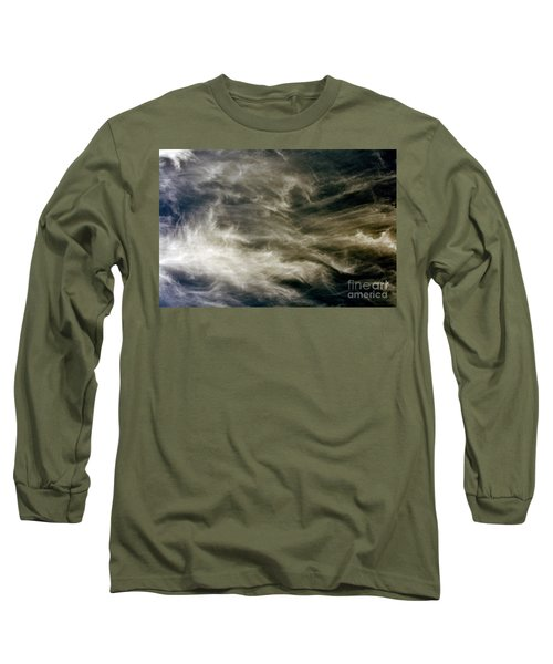 Dirty Clouds Long Sleeve T-Shirt by Clayton Bruster