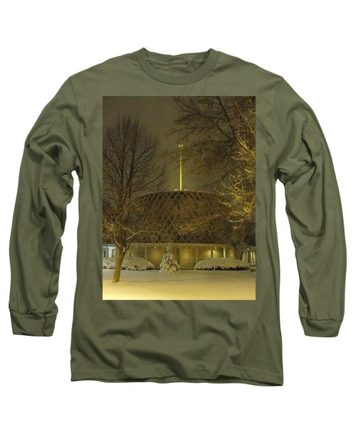 Long Sleeve T-Shirt featuring the photograph Dorcas Chapel by Tiffany Erdman