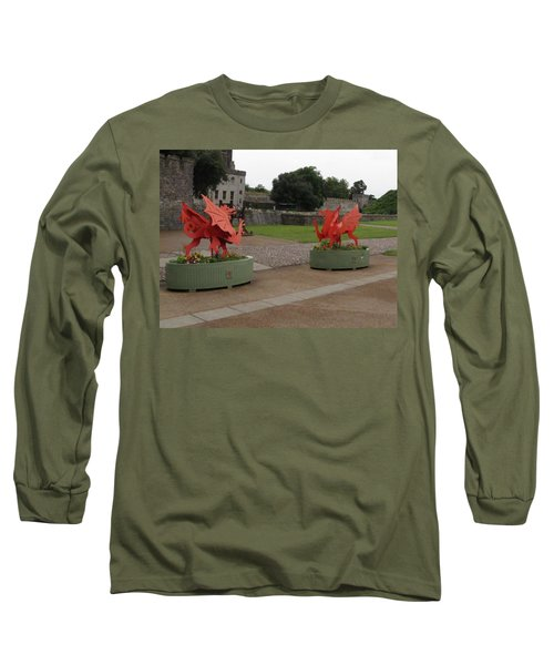 Dueling Dragons Long Sleeve T-Shirt