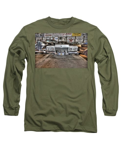 Elvis' Cadillac Long Sleeve T-Shirt