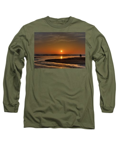Enjoying The Sunset Long Sleeve T-Shirt