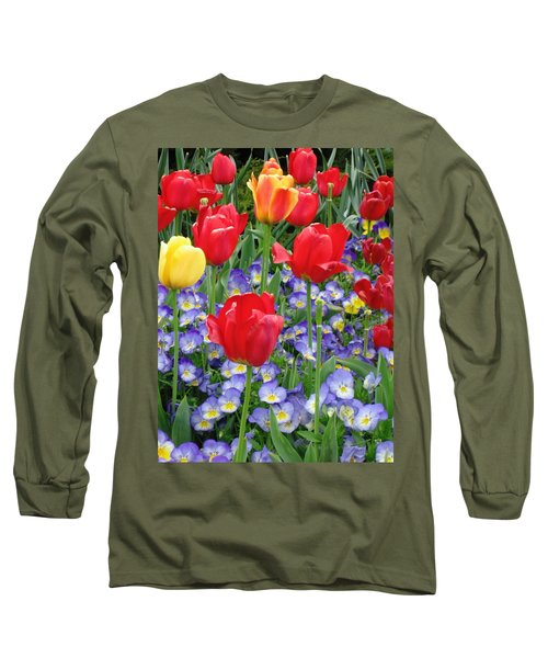 Exultation Long Sleeve T-Shirt by Rory Sagner