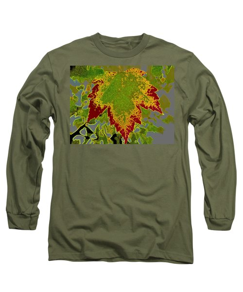 Long Sleeve T-Shirt featuring the photograph Falling by Kathy Bassett