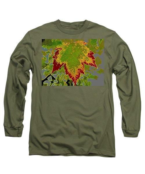 Falling Long Sleeve T-Shirt by Kathy Bassett