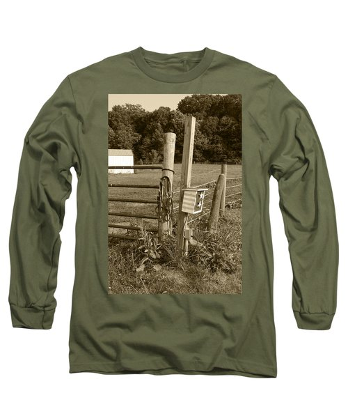 Fence Post Long Sleeve T-Shirt