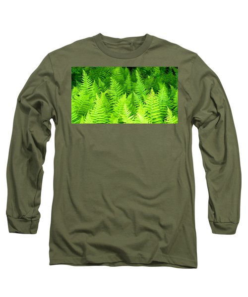 Ferns Galore Filtered Long Sleeve T-Shirt