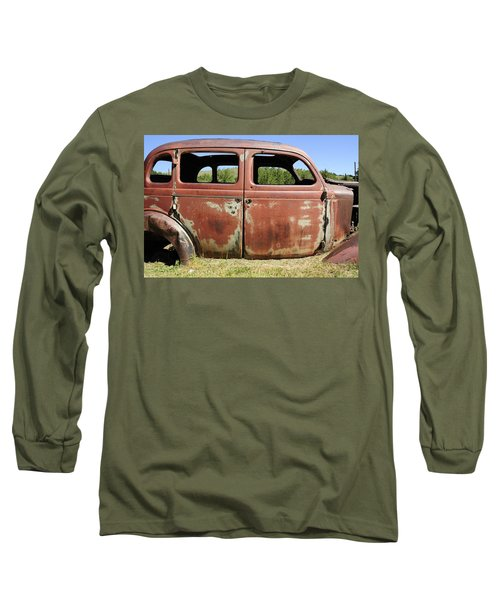 Long Sleeve T-Shirt featuring the photograph Final Destination by Fran Riley