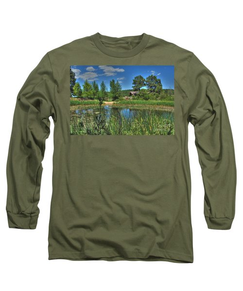 Long Sleeve T-Shirt featuring the photograph Flagstaff by Tam Ryan